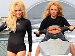 Using her assets to make a difference: Pamela Anderson dons an itty bitty wetsuit for campaign targeting whalers