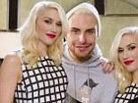 Rylan meets Gwen Stefani