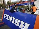 Ready for action: The New York Marathon will still go on despite the city's widespread devastation