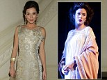 Anna Friel attends the press night party for Uncle Vanya