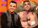 'I've still got that euphoria and she hasn't p***ed me off yet': Robbie Williams talks fatherhood, baby names and calling Gwyneth Paltrow¿s daughter Melon