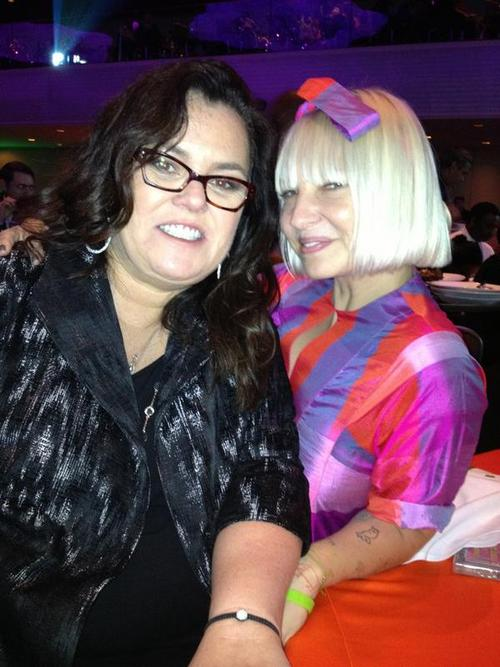 Me and my new favorite @Rosie at her Rosie's theatre kids benefit. Holy moly these kids can showbiz!