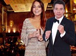 Lindsay Lohan demanded Jimmy Fallon eat with her when they ran into each other at a New York restaurant after Superstorm Sandy struck