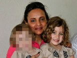 'Killer': Yoselyn Ortega is pictured with Lulu Krim, right, who she allegedly stabbed to death in a bathtub along with the girl's two-year-old brother Leo. Their sister, Nessie, left, was not at the apartment