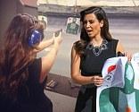 Kim Kardashian visits a gun range in Miami, Florida