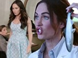 Science can be sexy! Megan Fox stars as sultry scientist in new computer advert...and talks to dolphins