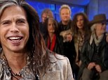 Steven Tyler and breakfast TV... don't mix: Aerosmith frontman lets slip with F-word (and doesn't even know what show he's on)