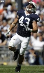 Penn State linebacker Josh Hull was named a first-team Academic All-American for the second straight season.