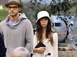 The honeymooners: Newlyweds Justin Timberlake and Jessica Biel land in Tanzania for luxurious safari getaway