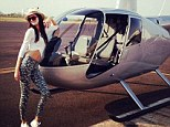 Not just a plane old 17th birthday! Kendall Jenner celebrates getting another year older by taking charge of a jet