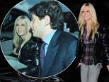 Tara Reid leaves her BFF's at home as she steps out with new mystery man for a romantic dinner in London