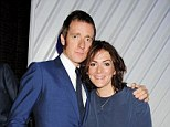 'Bored': Bradley Wiggins has admitted he was once a 12-pints-a-day man ¿ thanks to an unlikely obsession with Belgian beer. He is pictured with his wife Catherine