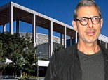 Scene: Linda Ransom (not pictured) was arrested after appearing at the Ahmanson Center Theater in Los Angeles, where Jeff Goldblum is currently performing