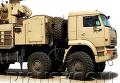 The Pantsyr-S1 mobile short-range gun and missile air defense system