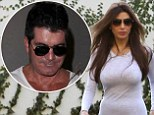 Simon Cowell and ex Mezhgan Hussainy enjoyed a trip out on Saturday
