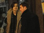 Star pals: Keira Knightley heads out on the town in London with her fiance James Righton, as well as music producer pal Mark Ronson