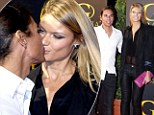 No wedding nerves for Julio Iglesias Jr... as he's spotted kissing his fiancee the night before their big day