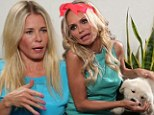 Feeling ruff! Dog lover Kristin Chenoweth gets therapy from Chelsea Handler in Funny or Die skit