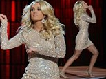 Carrie Underwood performs pop sensation song as she presents the CMA's