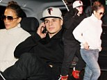 It's a date! Jennifer Lopez and boyfriend Casper Smart rushed off to see the new 007 flick Skyfall soon after arriving in Stockholm, Sweden