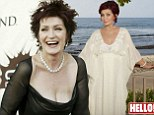 Sharon Osbourne reveals how she has had her breasts removed in Hello!