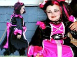 Pageant pirate! Honey Boo Boo dresses as pink pirate wench for Halloween