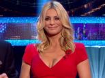 Lady in red: Tess Daly's low cut dress was a Twitter sensation