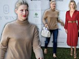 Salon fresh! Ali Larter goes from drab to fab after going to a hair appointment then stepping straight onto the red-carpet