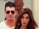 A beautiful friendship: Simon Cowell and ex-fiancée Mezhgan Hussainy prove their bond is still strong as they step out once again in Beverly Hills