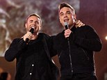 Competition: Robbie Williams has matched Gary Barlow by getting the 14th number one single of his career with new hit track Candy