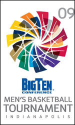 Indianapolis is host to the 2009 Big Ten Men's Basketball Tournament.