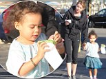 Isn't that sweet! Ellen Pompeo treats little daughter Stella to ice cream on a day of fun in the sun