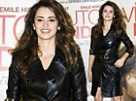 Lady in leather! Penelope Cruz cuts a sartorial dash as she attends premiere in leather coat reminiscent of The Matrix