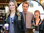 Baby on board: Kristen Bell, pictured in LA on October 30, is said to be expecting her first child