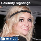 Pixie Lott is all smiles after leaving the Hard Rock Cafe, London after a performance.