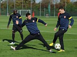Up against it: Arsenal's worries have deepened with more players joining the injury list
