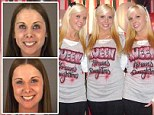 Smile for the mug shot! Sarah and Vicki Satterfield were arrested over the weekend