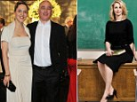 Accusations: It has been claimed that Peter and Louise Mensch (left) were long embroiled in an adulterous affair while he was still married to ex-wife Melissa (right)