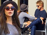 Love in the Big Easy: Elizabeth Olsen and Boyd Holbrook spotted holding hands over an intimate lunch