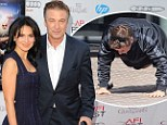 No wonder he was working out! Alec Baldwin looks dapper on the red carpet after doing push ups on the streets of LA