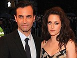 Fashion friends: Designer Nicolas Ghesquière (left), who has been the creative director of Balenciaga for 15 years, is parting ways with the Paris house that dresses Kristen Stewart for almost all of her red carpet appearances