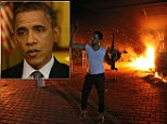 The footage, released quietly by CBS seven weeks after it was filmed, shows Obama contradicting himself yet again on the attack that left the U.S. ambassador and three other Americans dead.