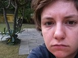 Natural: Lena Dunham posted a picture of her in India wearing no make up, and she looks great