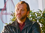 Tough guy: Jude Law reinvents himself as a hardman as he films Don Hemingway in London