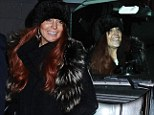 That's probably a wise move! Lindsay Lohan tries her hand at being a passenger... as she steps out in a mismatched outfit for night out