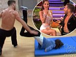 'What Val and I have is unexplainable': Kelly Monaco and partner's sizzling chemistry fuels romance rumours on DWTS... as she narrowly escapes injury after nasty fall