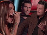 'I'm p***ed at Blake for stealing you!' Shelton faces contempt from Adam Levine on The Voice as competition heats up on first night of live shows