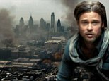 Fans get a first look at Brad Pitt fighting an army of zombies as teaser trailer for World War Z is released