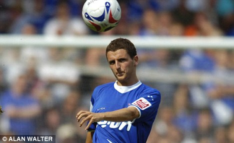 Marching on: Alex Bruce is set to sign for Leeds United after his move from Ipswich to Sheffield United fell through