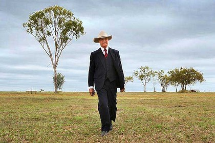 Bob Katter in Charters Towers. <i>Picture: Michael Chambers</i>